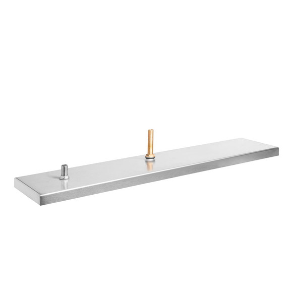 """8"""" Wide Drip Tray With Glass Rinser"""