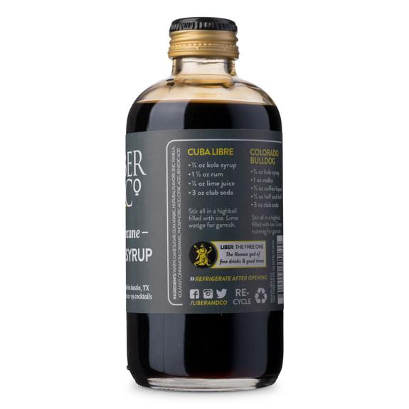 Liber & Co. Sugarcane Kola Syrup - 9.5 oz