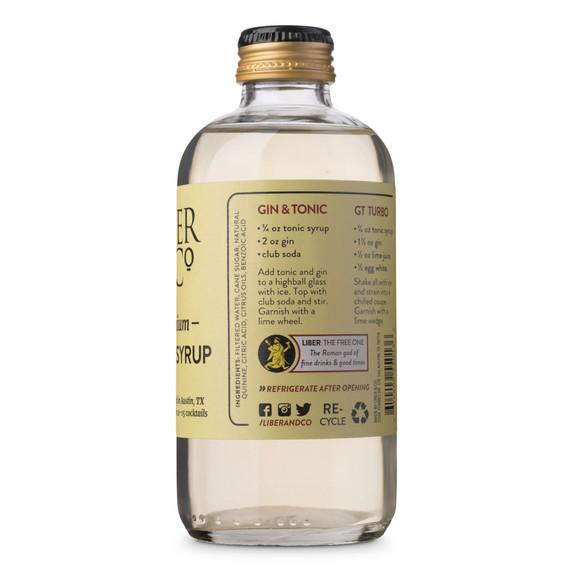 Liber & Co. Premium Tonic Syrup - 9.5 oz