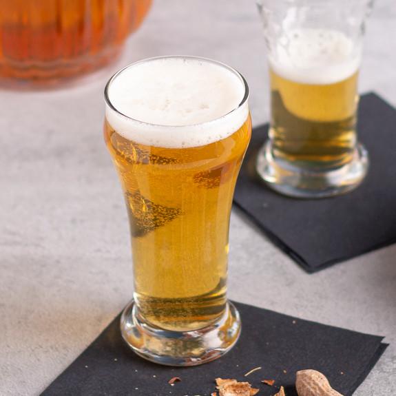 Libbey Heavy Base Sham Pilsner Beer Glass - 6 oz
