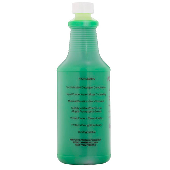 32 oz bottle of beer line cleaning solution