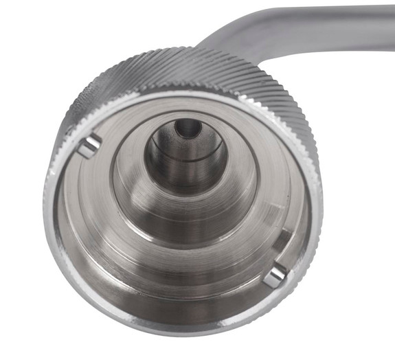 Sankey flusher attachment with quick disconnect