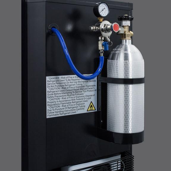 Summit Kegerator - Slim Fit - 1 Faucet - Black
