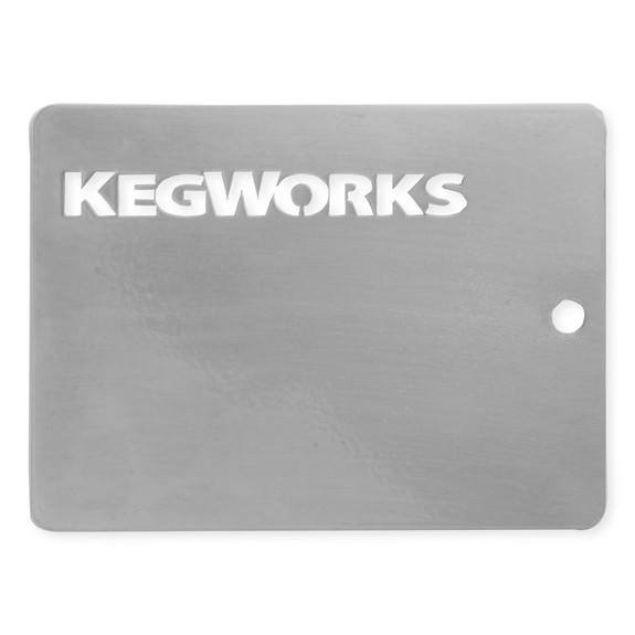 KegWorks Polished Stainless Steel Sample Chip