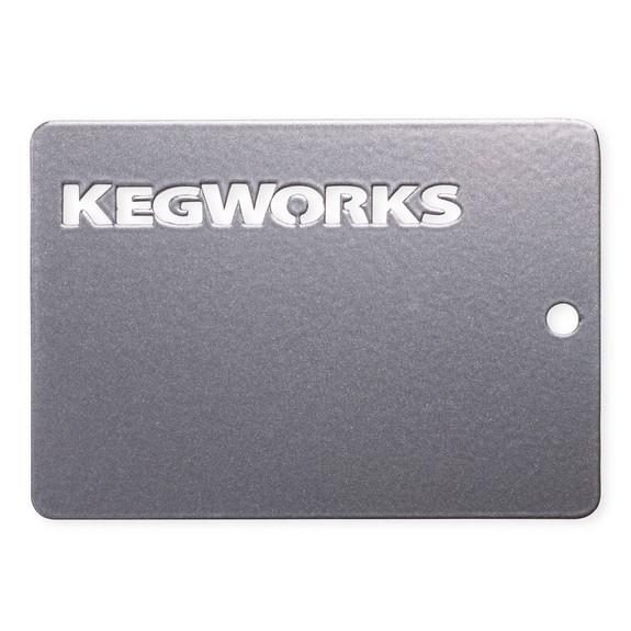 KegWorks Gunmetal Grey Sample Chip