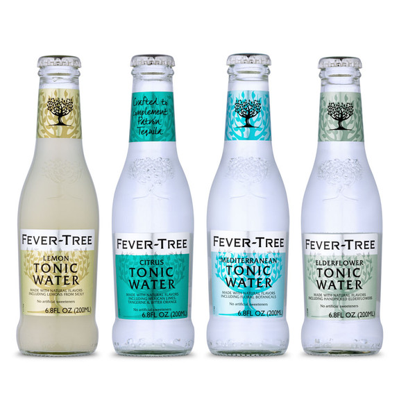 Fever Tree Specialty Tonic Water Sampler 4 Pack - 6.8 oz