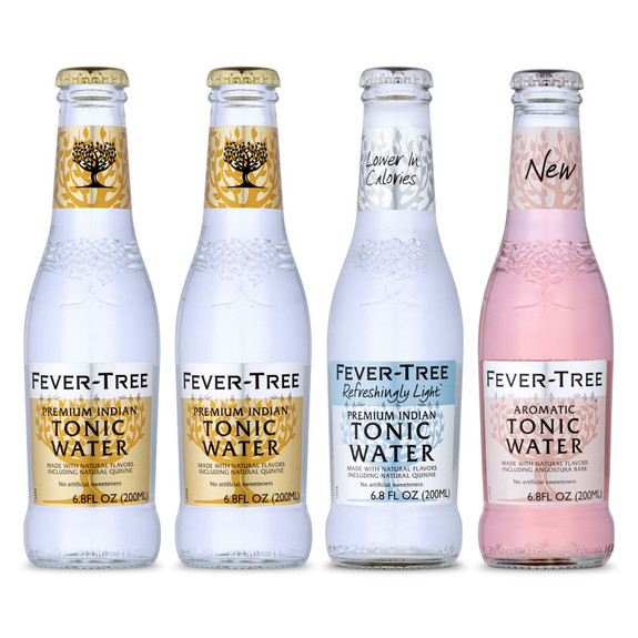 Fever Tree Classic Tonic Water Sampler 4 Pack - 6.8 oz