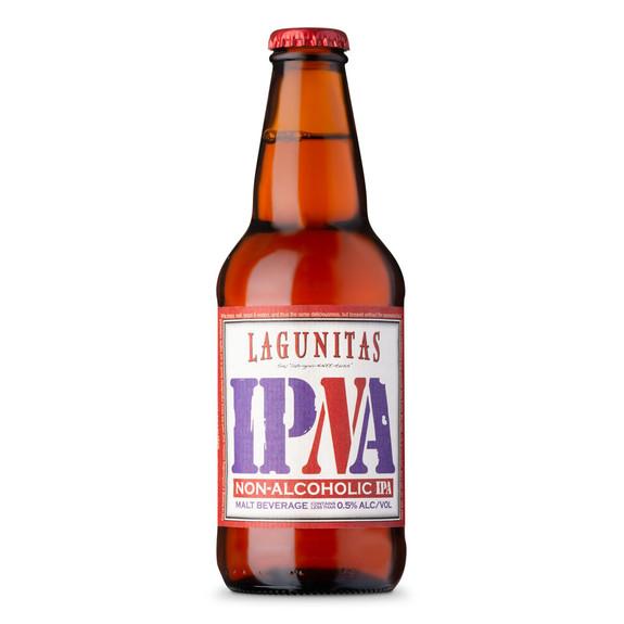 Lagunitas IPNA - Non-Alcoholic IPA Beer- 12 oz Bottle