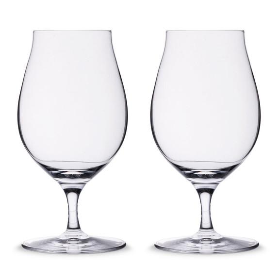 Spiegelau Stemmed Tulip Craft Beer Glasses - 15.5 oz - Set of 2