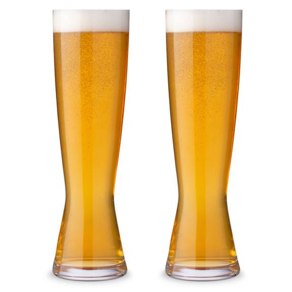 Spiegelau Tall Pilsner Beer Glasses - 15 oz - Set of 2
