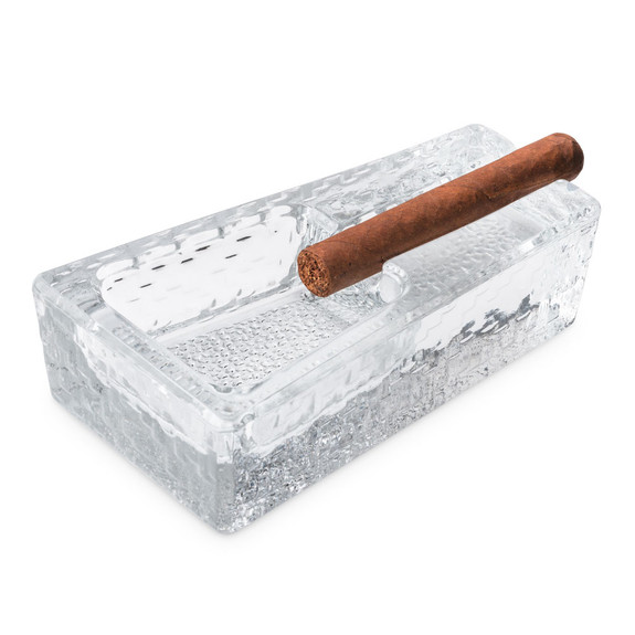 Libbey Glass Cigar Ashtray