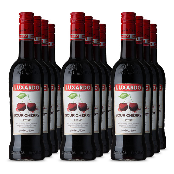 Luxardo Sour Cherry Syrup - 750ml - Case of 12 Bottles