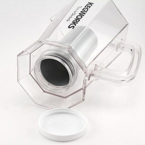Polar Pitcher & Accessories Pack - Includes Pitcher with Ice Core, Lid, & Re-Freezable Glacier Insert
