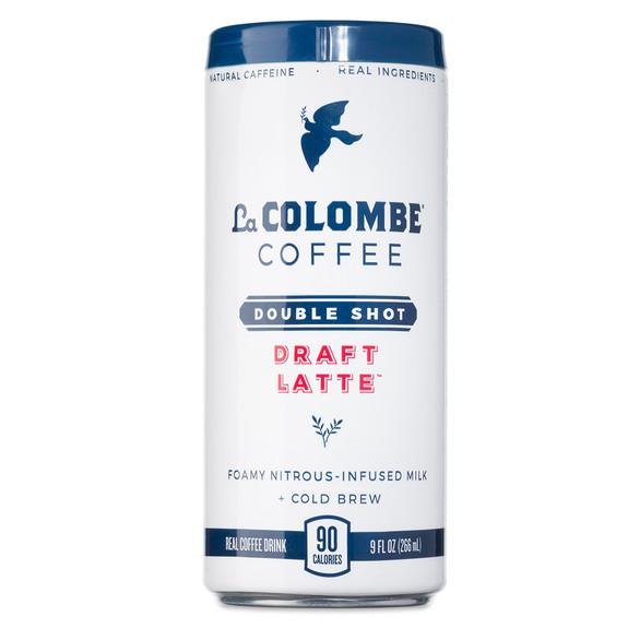 La Colombe Double Shot Nitro Draft Latte Coffee Drink - 9 oz Can