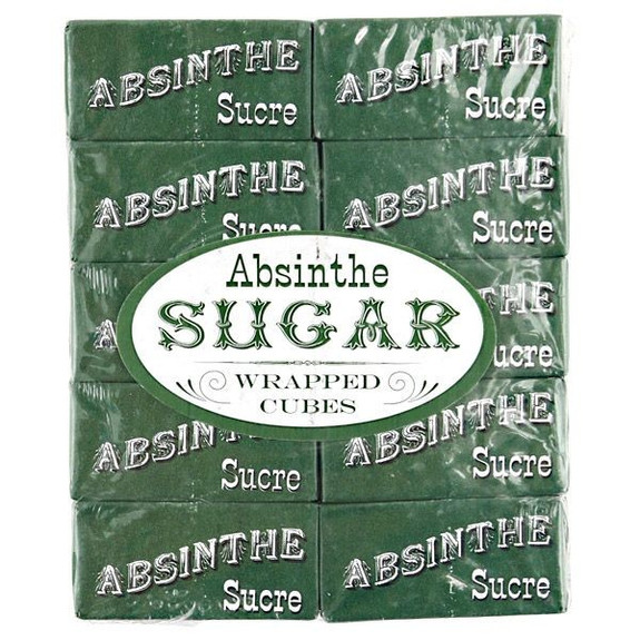 Sazerac Cocktail Gift Set - Absinthe Wrapped Sugar Cubes