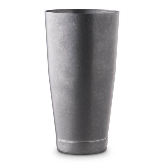 Barfly Tall & Short Shaker Tin Set - Vintage Stainless Steel Finish