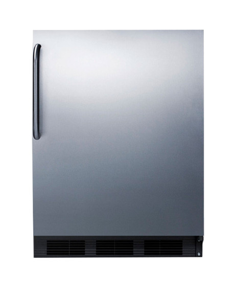 Summit Commercial Under Counter Refrigerator - 5.5 cu. ft. - Stainless Steel