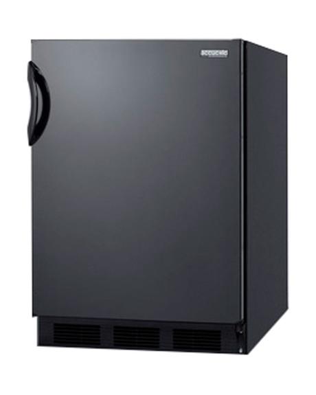 Summit Commercial Refrigerator - 5.5 cu. ft. - Black