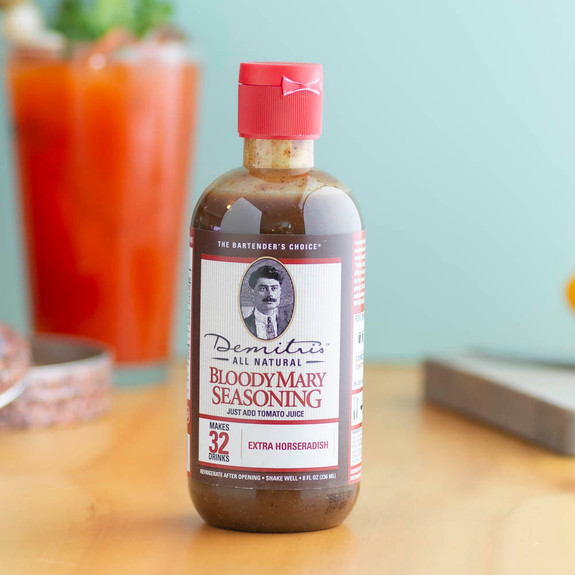 Demitri's Extra Horseradish Bloody Mary Seasoning Mix - 8 oz