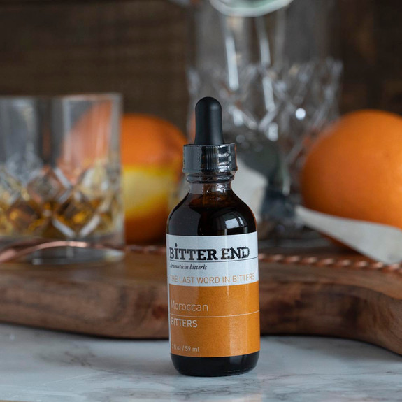 The Bitter End Moroccan Cocktail Bitters - 2 oz