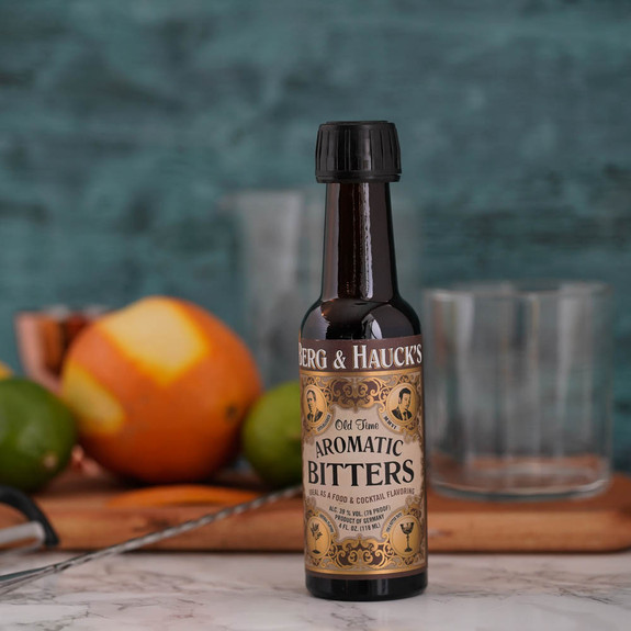 Berg & Hauck's Old Time Aromatic Cocktail Bitters - 4 oz