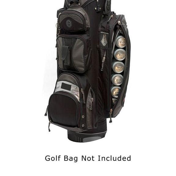 Par 6 Golf Bag Can Cooler in Golf Bag
