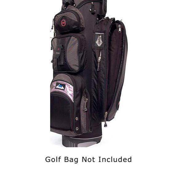 Par 6 Golf Bag Can Cooler in Golf Bag Closed