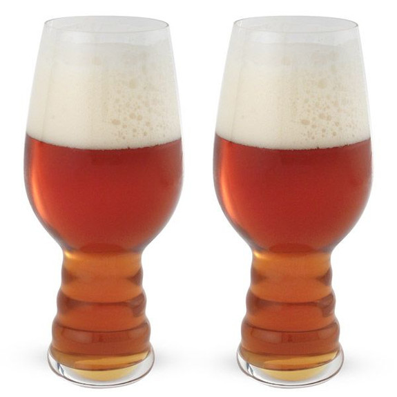 Spiegelau IPA Beer Glass - Pack of 2 - Designed with Dogfish Head & Sierra Nevada