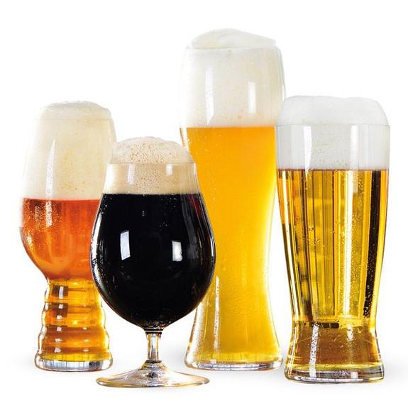 Spiegelau Craft Beer Glass Tasting Kit - Set of 4 Beer Glasses