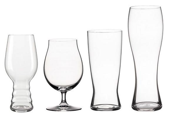 Spiegelau Beer Classics Tasting Kit - Set of 4 Beer Glass Favorites