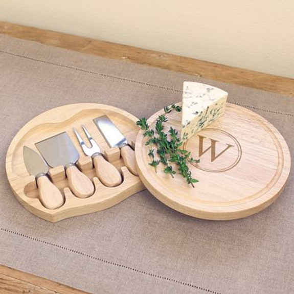 Personalized Gourmet Cheese Board Set - 5 Pieces