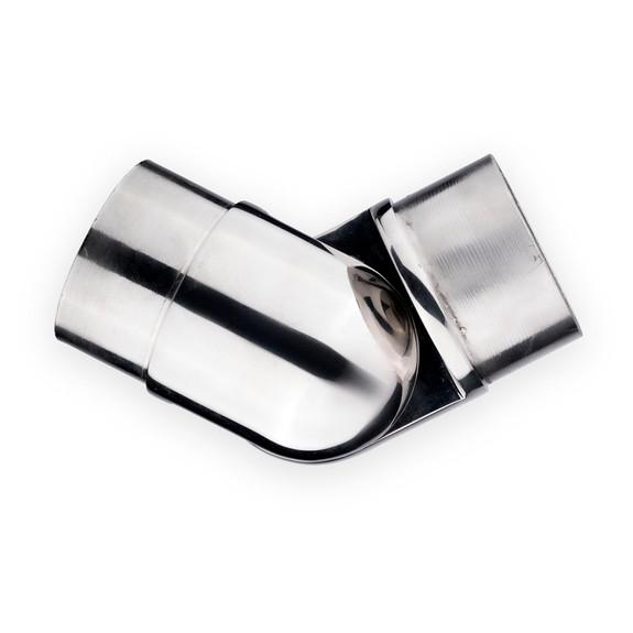 "Adjustable Flush Elbow - Polished Stainless Steel - 2"" OD"