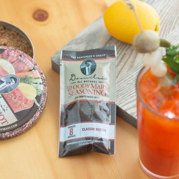 Demitri's Classic Bloody Mary Seasoning Mix - 2 oz Pouch