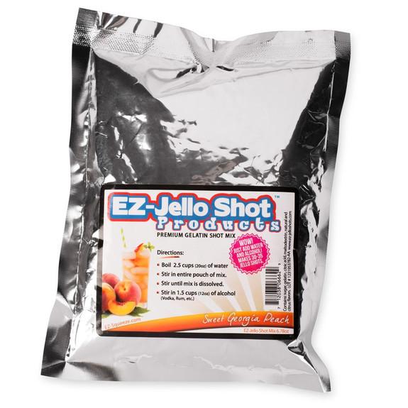 Sweet Georgia Peach Flavored Jello Shot Mix - 6.78 oz