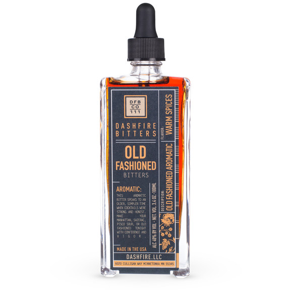 Dashfire Old Fashioned Aromatic Cocktail Bitters - Specialty Series - 3.4 oz