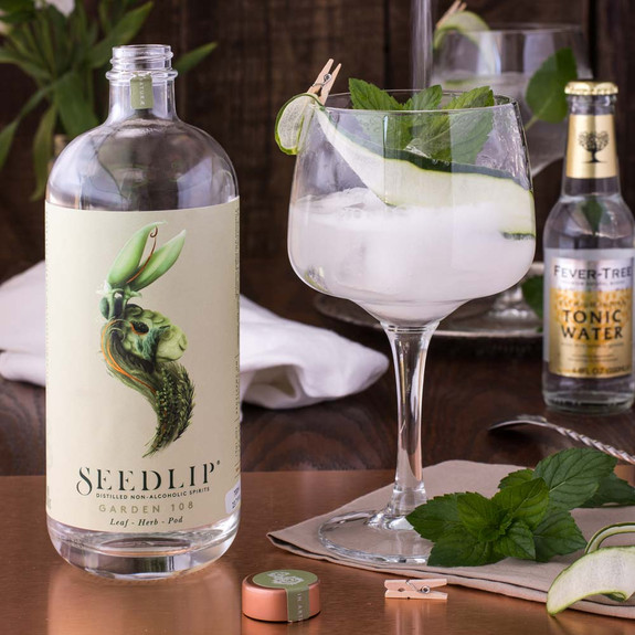 Seedlip Garden 108 Distilled Non-Alcoholic Spirits - 700ml