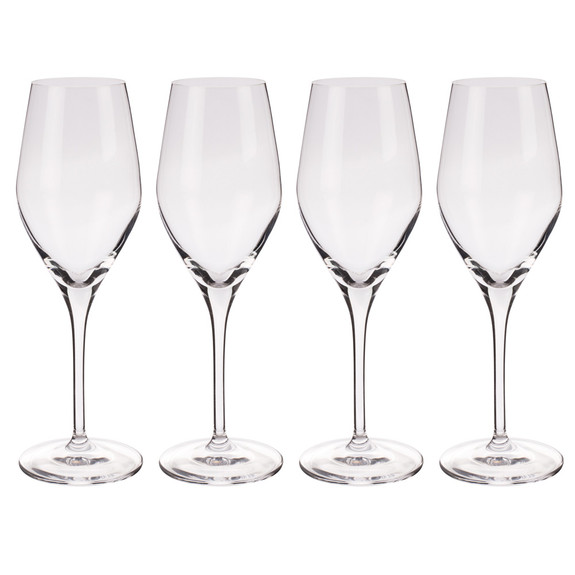 Spiegelau Prosecco Sparkling Wine Crystal Glasses - 9.1 oz - Set of 4