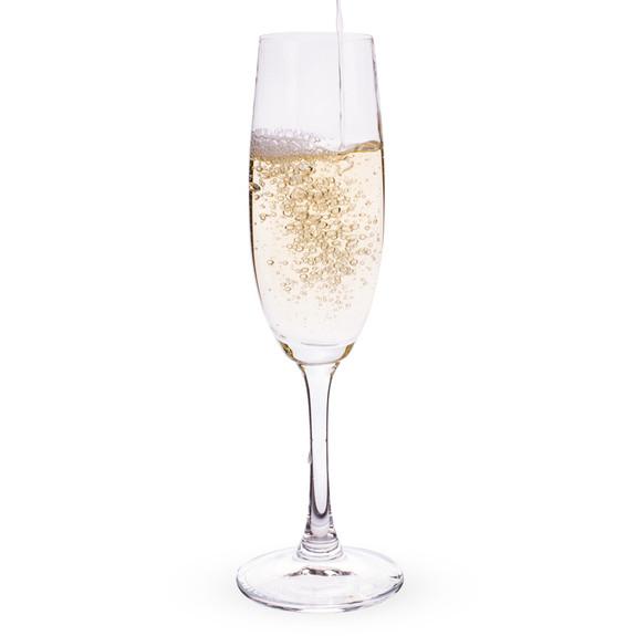 Spiegelau Wine Lovers Crystal Champagne Flutes - 6.7 oz - Set of 4