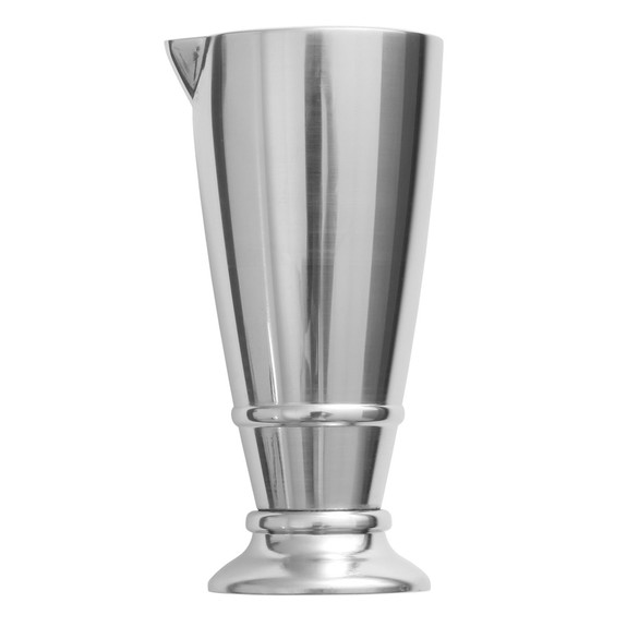 Crafthouse by Fortessa Footed Stainless Steel Cocktail Jigger - 2 oz