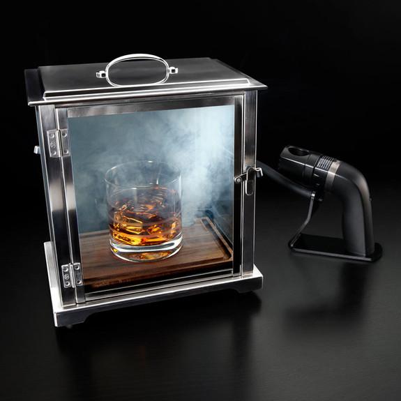 Crafthouse by Fortessa Smoking Box Set with Smoke Gun & Smoke Chips