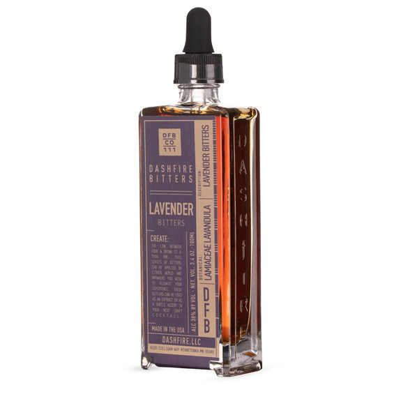 Dashfire Lavender Cocktail Bitters - 3.4 oz