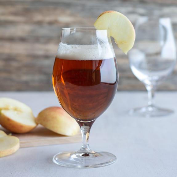 Spiegelau Stemmed Crystal Cider Glasses - 17.6 oz - Set of 4