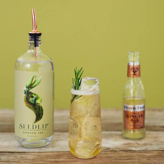 Seedlip Garden 108 Herbal Distilled Non-Alcoholic Spirits - 200ml