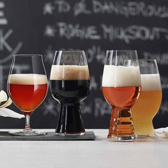 Spiegelau Deluxe Craft Beer Tasting Kit - Set of 4 Beer Glasses