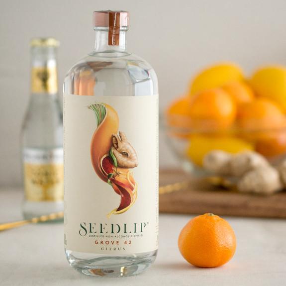 Seedlip Grove 42 Citrus Distilled Non-Alcoholic Spirits - 700ml