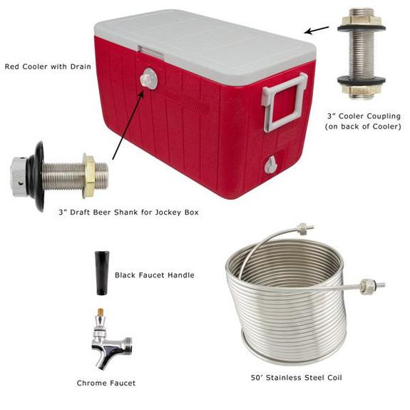 Jockey Box Hardware Kit