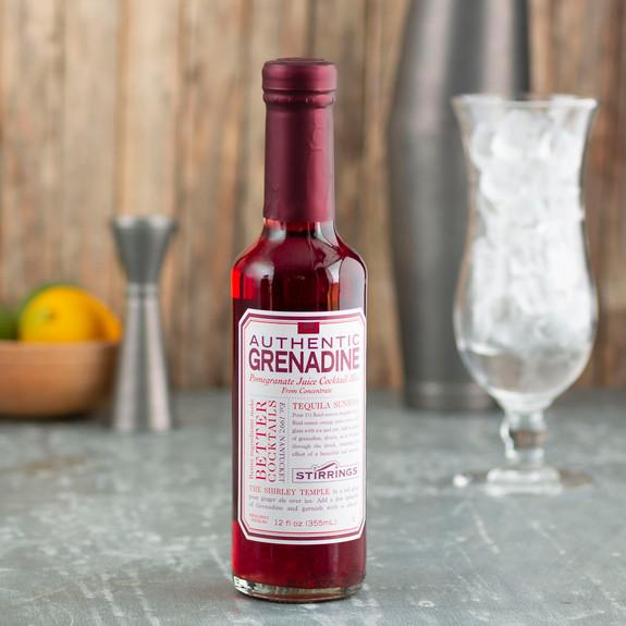 Stirrings Authentic Grenadine Syrup - 12 oz