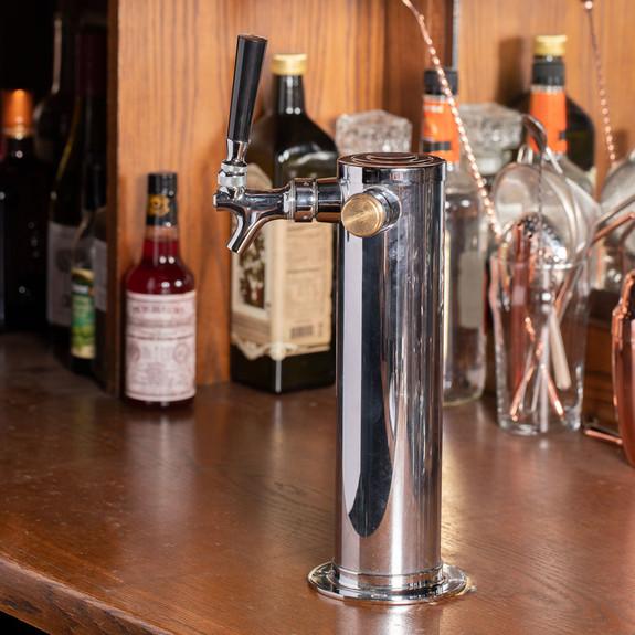Draft Beer Faucet Plug- Brass