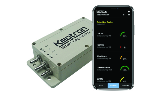 Keg Monitoring Systems