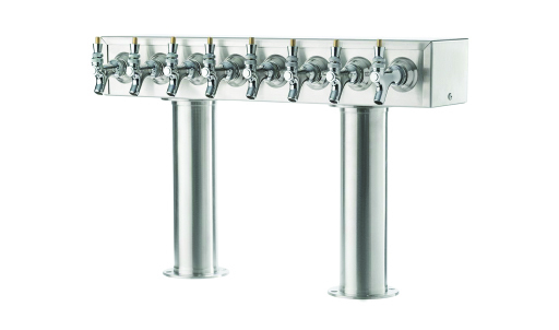 Double Pedestal Beer Towers